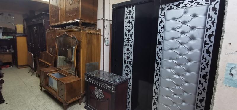 غرف نوم إستعمال بحالة الجديد و أنتريهات وصالونات
