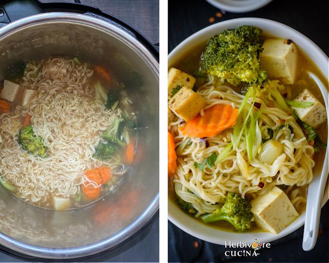 Instant Pot Ramen Soup Steps 5