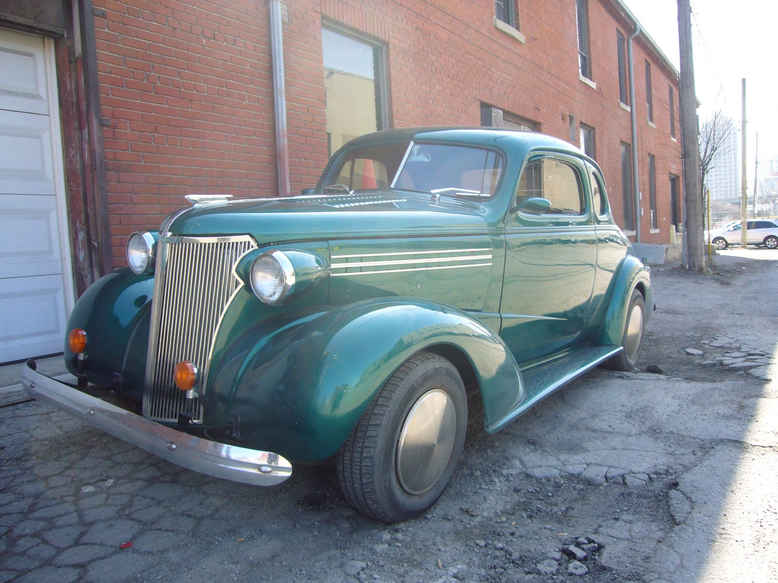 lost toronto: More Cool Cars/1936 Chevy Business Coupe