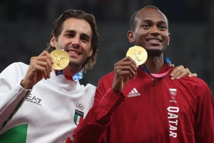 Deportistas comparten medalla de oro en los Juegos Olímpicos