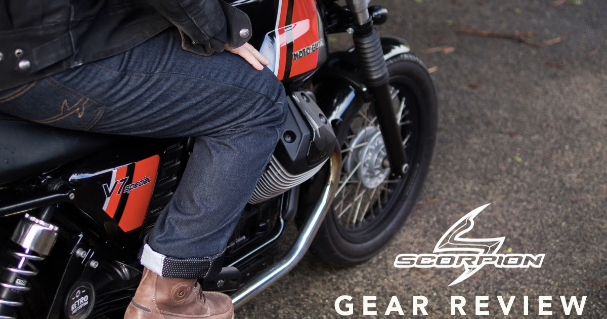 Gear Review - Scorpion Covert Pro Jeans          |           Return of the Cafe Racers