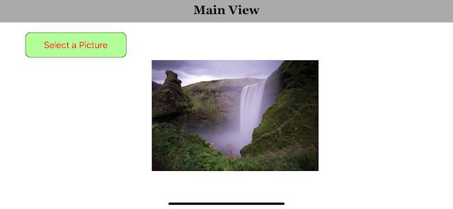 iOS Swift Image Picker example