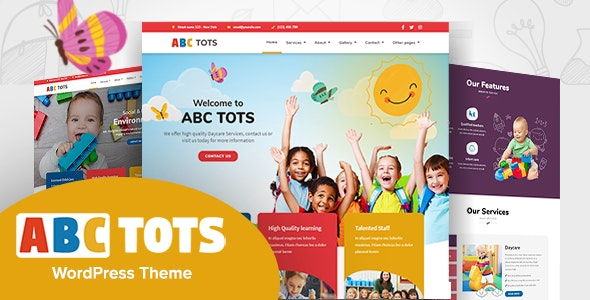Abc Tots - Kindergarten Theme Download Nulled Free