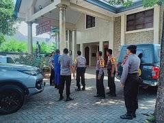 Ops Lilin Candi 2019, Tim Pamatwil Polda Jateng Lakukan Pengecekan di Batang.