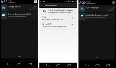 Aplikasi Power Button to Volume Button