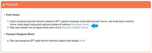 Cara Instal Aplikasi Viewer SPT Online