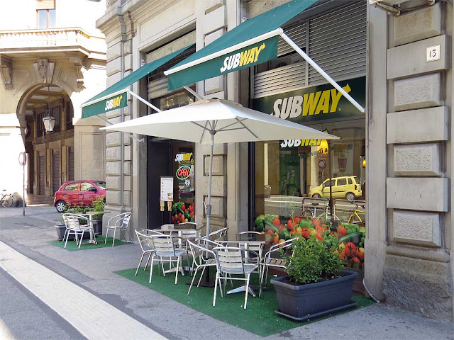 Subway shop, via Cairoli, Livorno