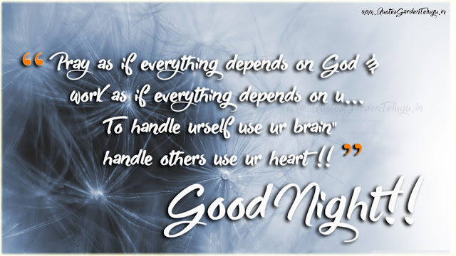 Good night messages quotations for whatsapp