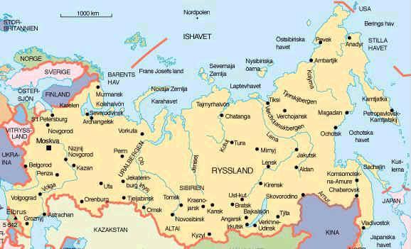 karta över ryssland Kvarnbyrosa: Ryssland  historia karta över ryssland