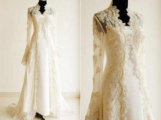 How About A Lace Veil Or Long Lacy Sleeves Detail On The Dress Itself Somewhere Somehow There S Got To Be