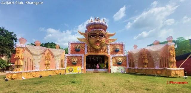 Kharagpur Durga Puja Parikrama 2020