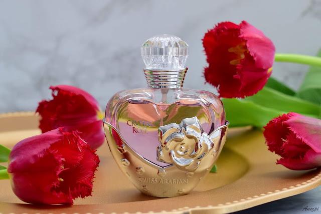 perfumy o zapachu róży