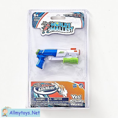 World smallest Nerf Super Soaker