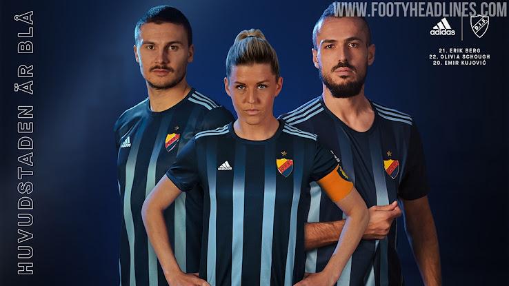 Adidas Djurgardens 2020 Home Kit Released Footy Headlines