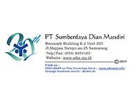 Lowongan Kerja di PT. Sumberdaya Dian Mandiri - Semarang (Sales Support  & Customer Service)