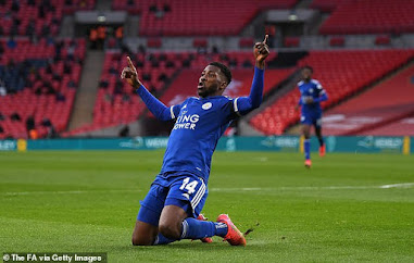 Kelechi Iheanacho Sends Leicester to the FA Cup Finals