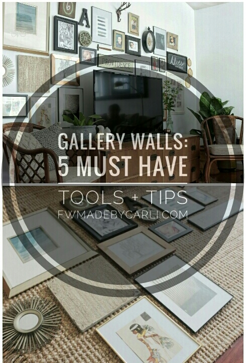 Gallery Wall tips and tricks