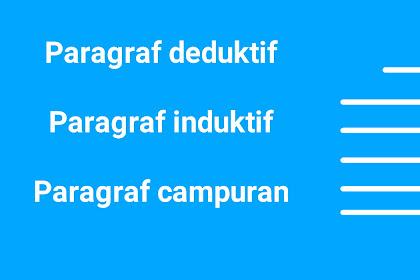 Pengertian Paragraf Deduktif, Induktif, Dan Campuran Bahasa Indonesia
