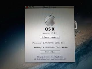 "Laptop MacBook Pro Core2 Duo 2.4GHz 17"" HDD 160GB RAM 4GB 2008 Seken"