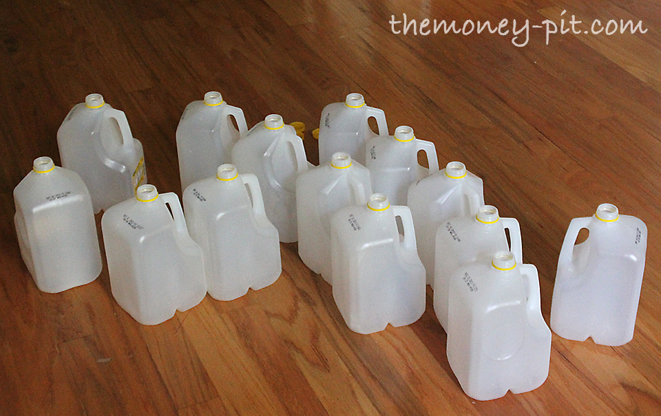 how to make halloween lanterns out of milk cartons