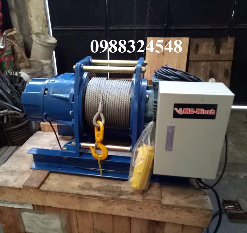 Tời cáp điện KIO GG-1000 1000kg