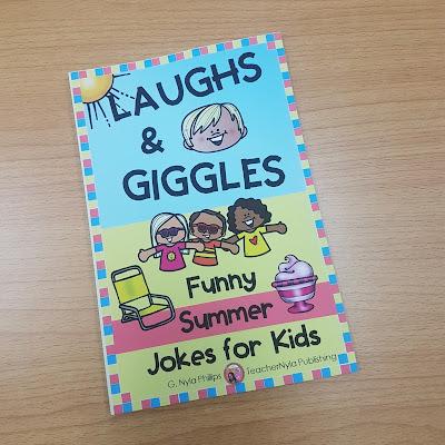 Summer themed joke book for kids