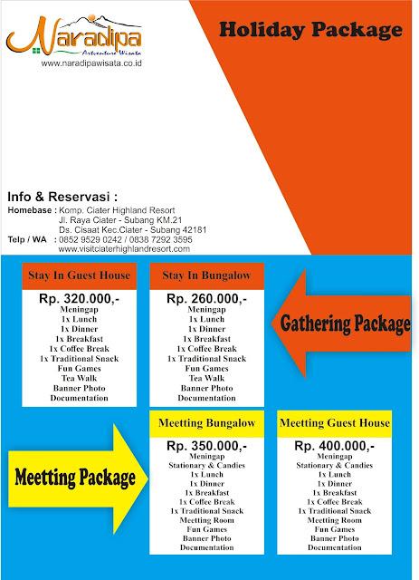 Paket Menginap ll Visitciaterhighandresort.com