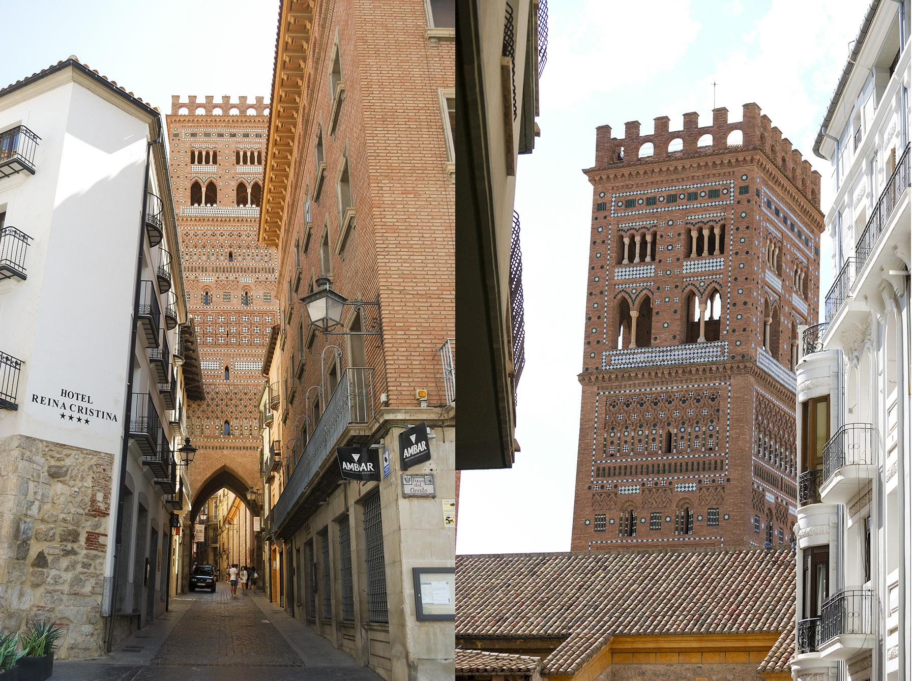Teruel towers