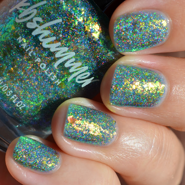 KBShimmer Pretty Shore swatch