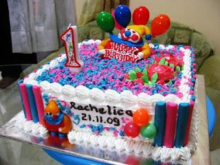 Kue ulang tahun pertama anak