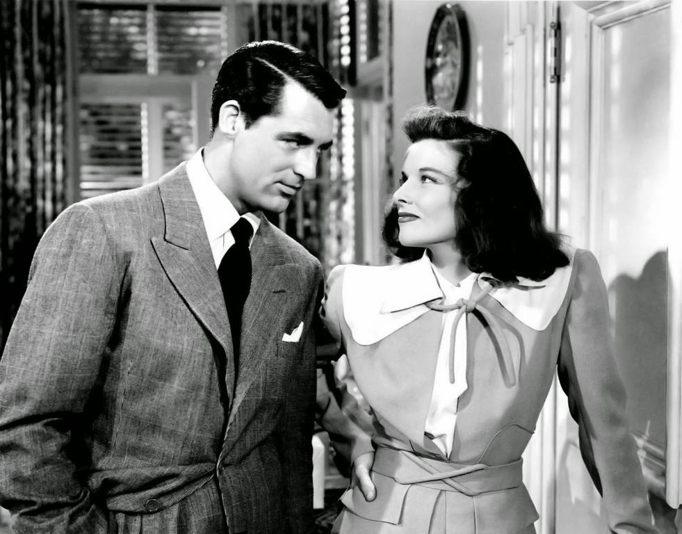 The Philadelphia Story, Directed by George Cukor, starring Cary Grant, Katharine Hepburn