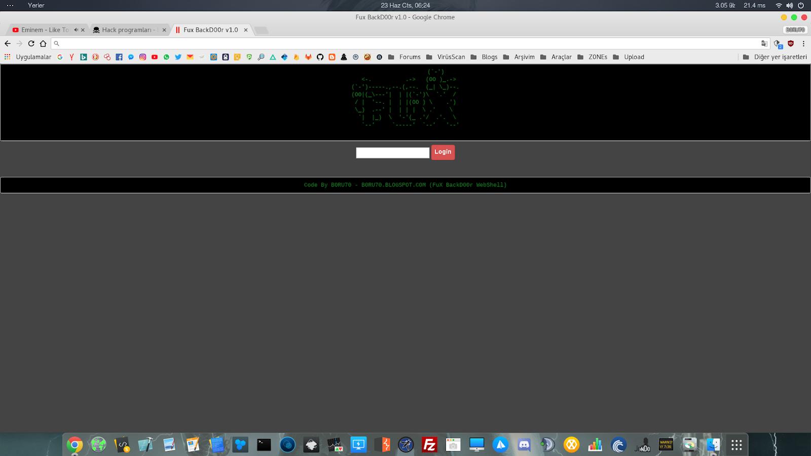 FuX WebShell (fux php)   Under World   Exploit   W@rez
