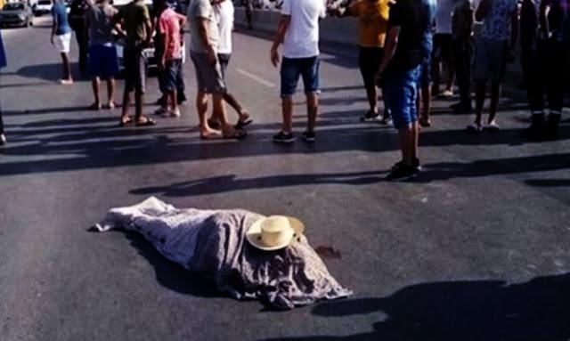 الزهروني : سيارة تودي بحياة شيخ كان متوجها لصلاة الجمعة