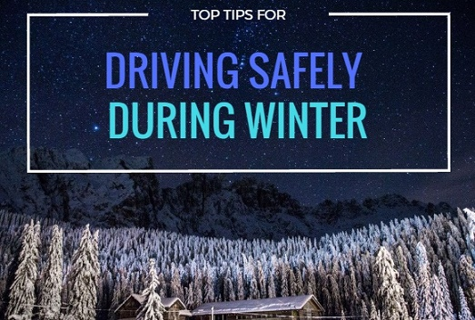 Top Tips for driving Safely in Winter