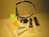 Montage Material: GHB Haartrocknerhalter mit importierten Kleber von Deutschland und hochwertigem Legierungsstahl