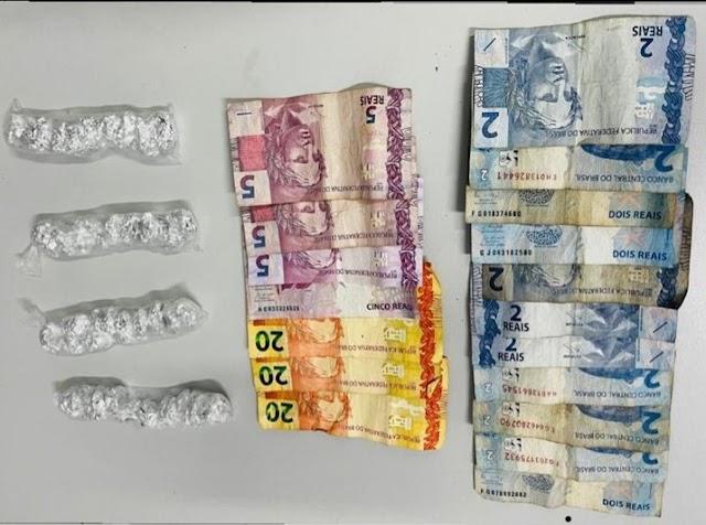 POLÍCIA CIVIL PRENDE TRAFICANTE DE DROGAS NA VILA SETE DE SETEMBRO