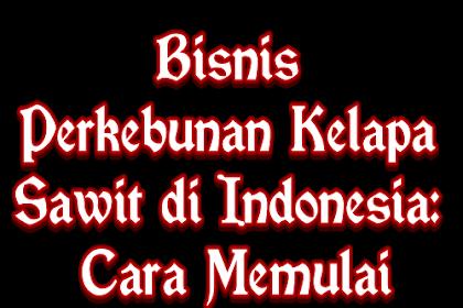 Bisnis Perkebunan Kelapa Sawit di Indonesia: Cara Memulai
