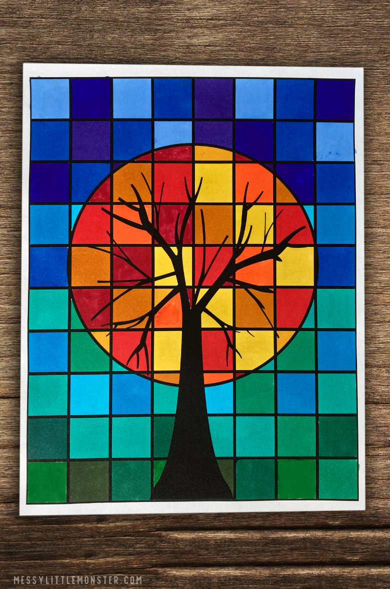 tree art project for kids