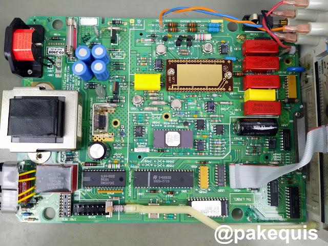 HP 3468A PCB