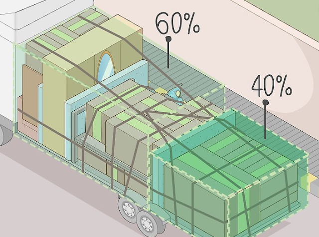 Proper distribution of cargo in the back