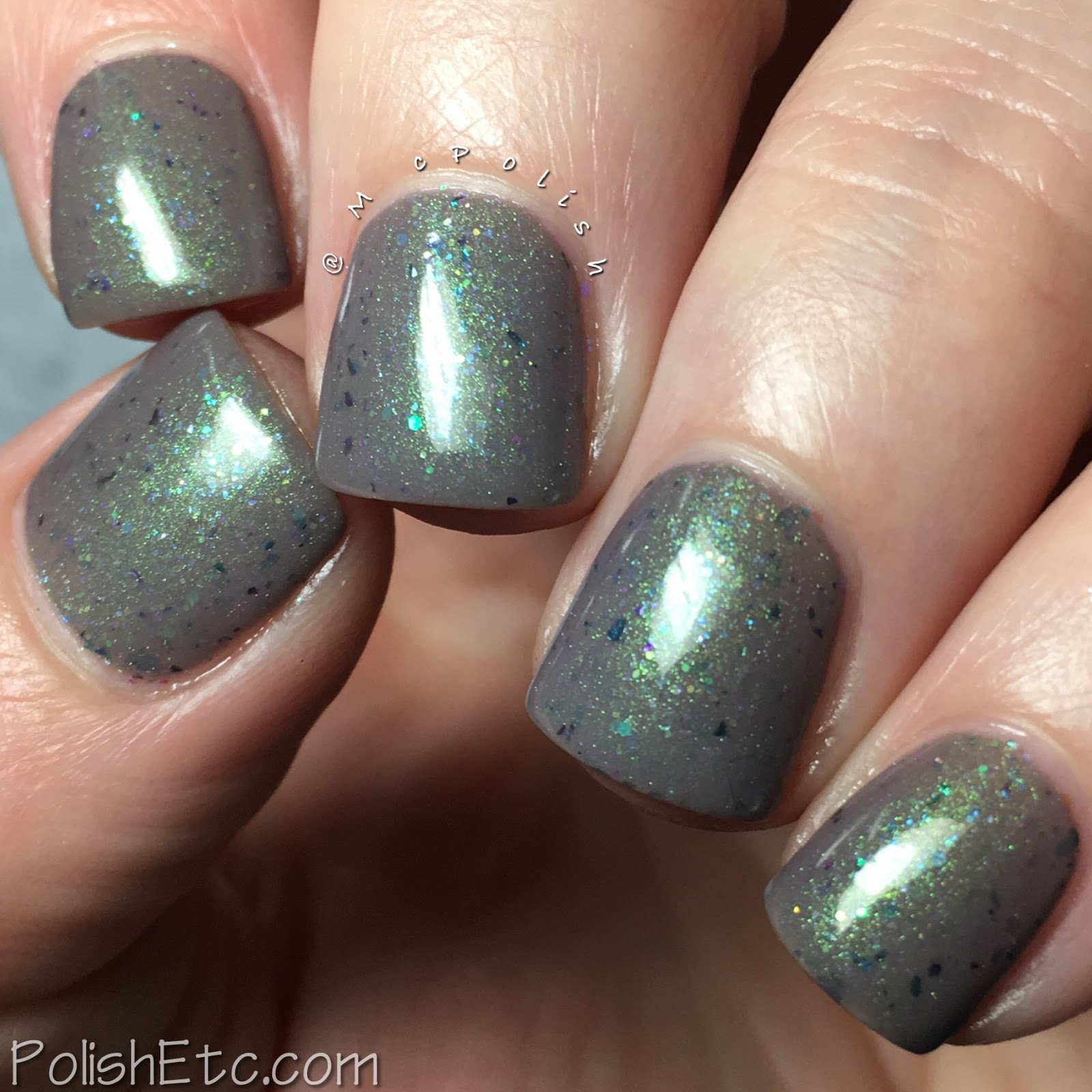 Vikings Duo from Lollipop Posse Lacquer and Anchor & Heart Lacquer - McPolish - Clamber, With a Heart of Steel