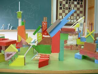 Taller de pintura y construcciones