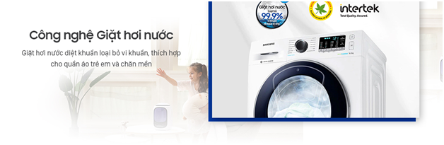 Máy giặt Samsung WW10K54E0UX/SV