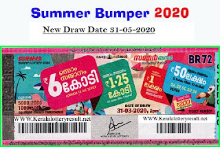Summer Bumper Result New Draw Date 31-05-2020