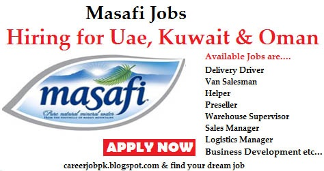 Latest jobs in Masafi UAE