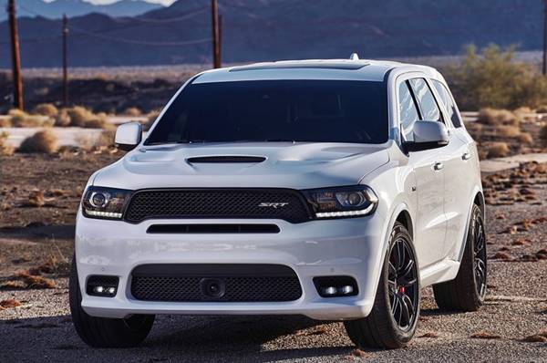 2018 Dodge Durango SRT Changes Release