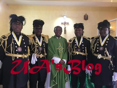 Rotimi Amaechi promoted to the highest rank of Knights of St. John of Catholic Church (Photos)