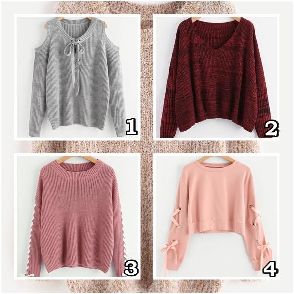 Przegląd zimowych sweterków