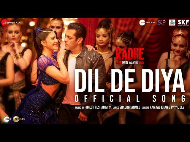 दिल दे दिया Dil De Diya Official song lyrics in Hindi - Kamaal Khan & Payal Dev