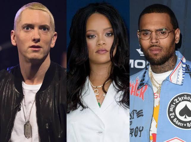 Eminem Side Chris Brown Rihanna Assault With Leaked Clip